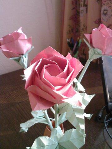 "оригами ""Роза Тошиказу"