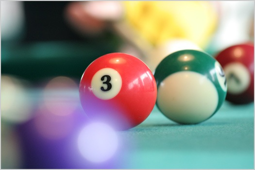 Новые правила игры на бильярде были утверждены на международном...