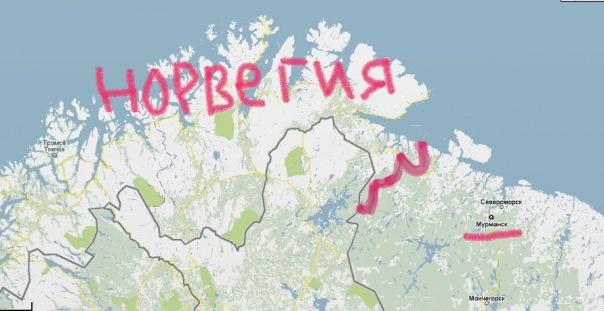 Взглянем на карту мира.