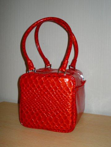 сумка Красный куб.