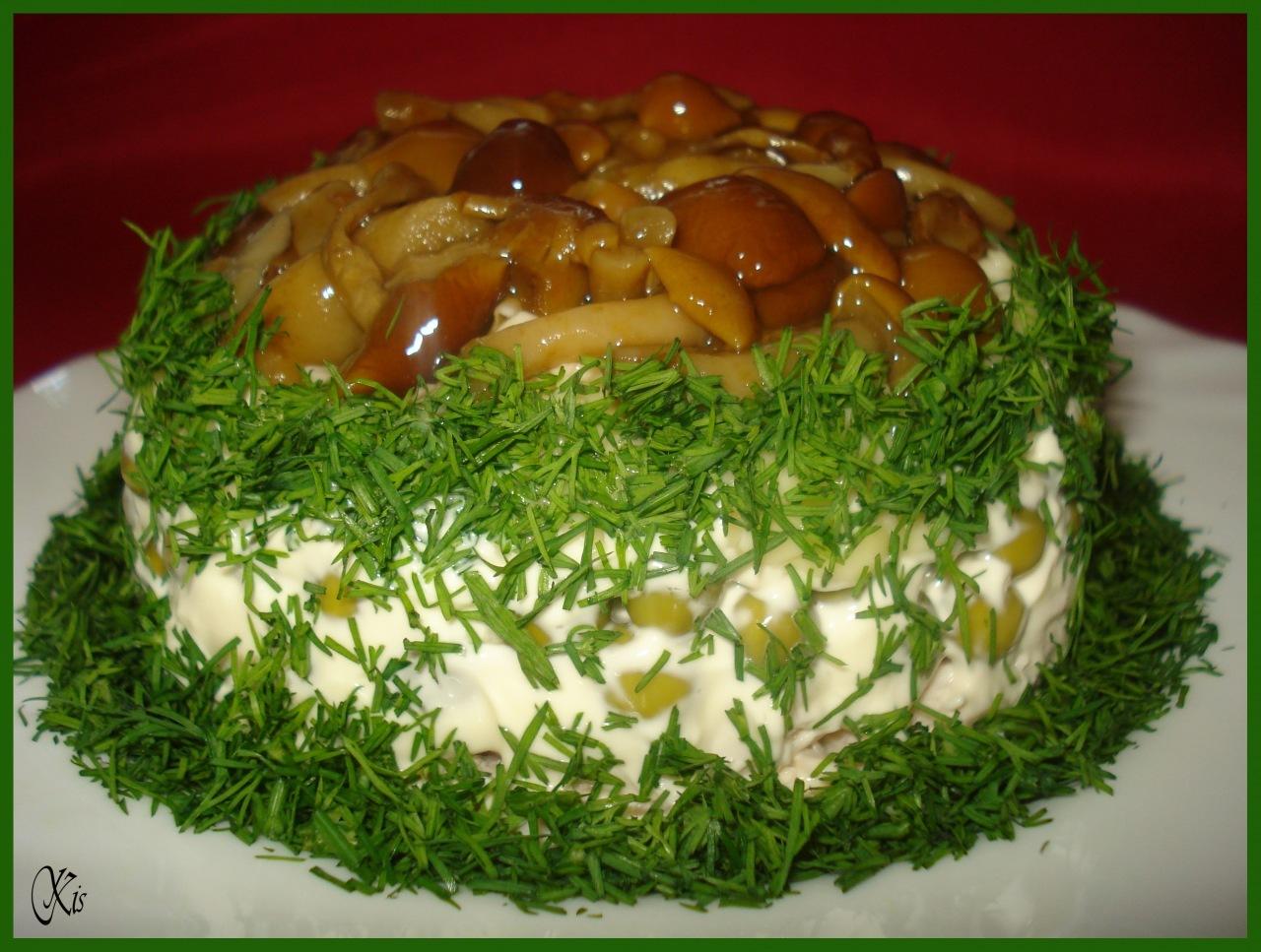 Рецепт салата вкусняшка