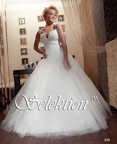 Самое пышное свадебное платье фото.