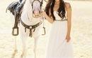 невеста, платье, девушка, лошадь, фотография - картинка 45594 на Favim.ru.