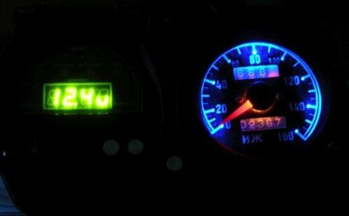 В данной статье описывается как сделать Спидометр со светящийся стрелкой на мотоциклах.