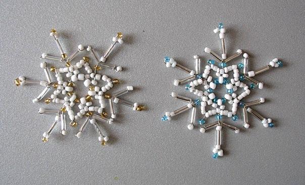 Схема для плетения снежинки 2.