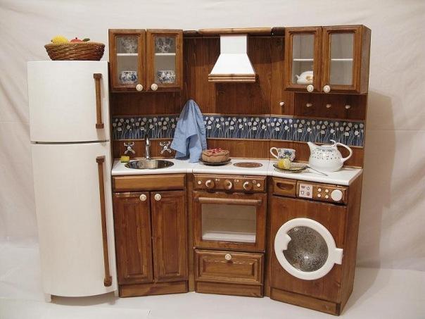 Как сделать кухонный гарнитур для кукол