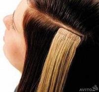 Фото галерея волос до и после ленточного наращивания волос.  Купить наборы волос для наращивания можно в нашем...