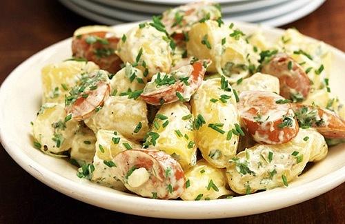 Салат немецкий полезные салаты