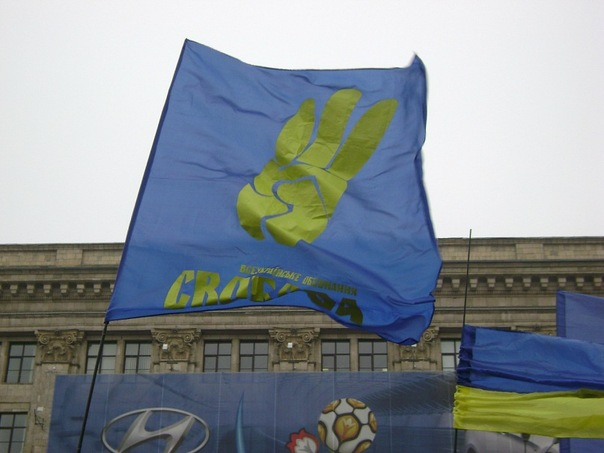 Ukraine Political Flags