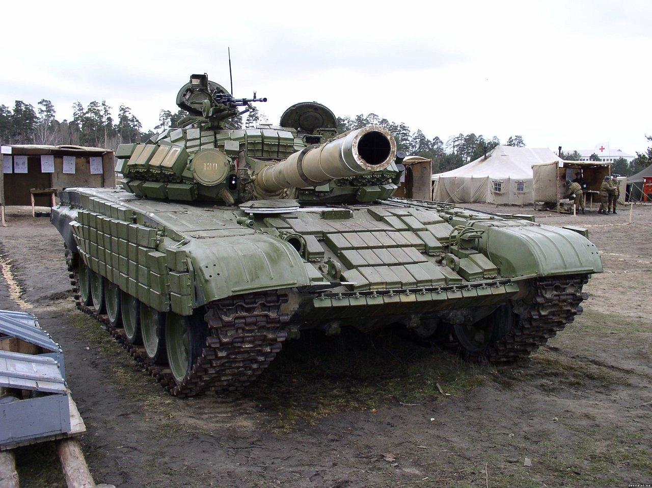что поставить на танк т 72 урал