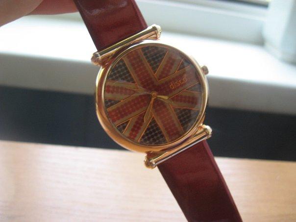 часы с британским флагом