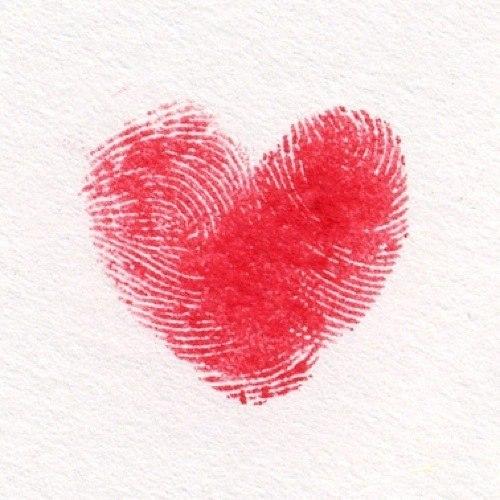 Надписью мои, открытка отпечатки пальцев