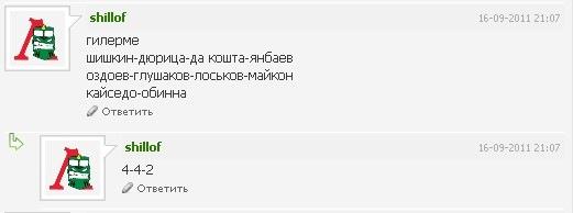 Спрогнозируй состав Локо на матч с ЦСКА