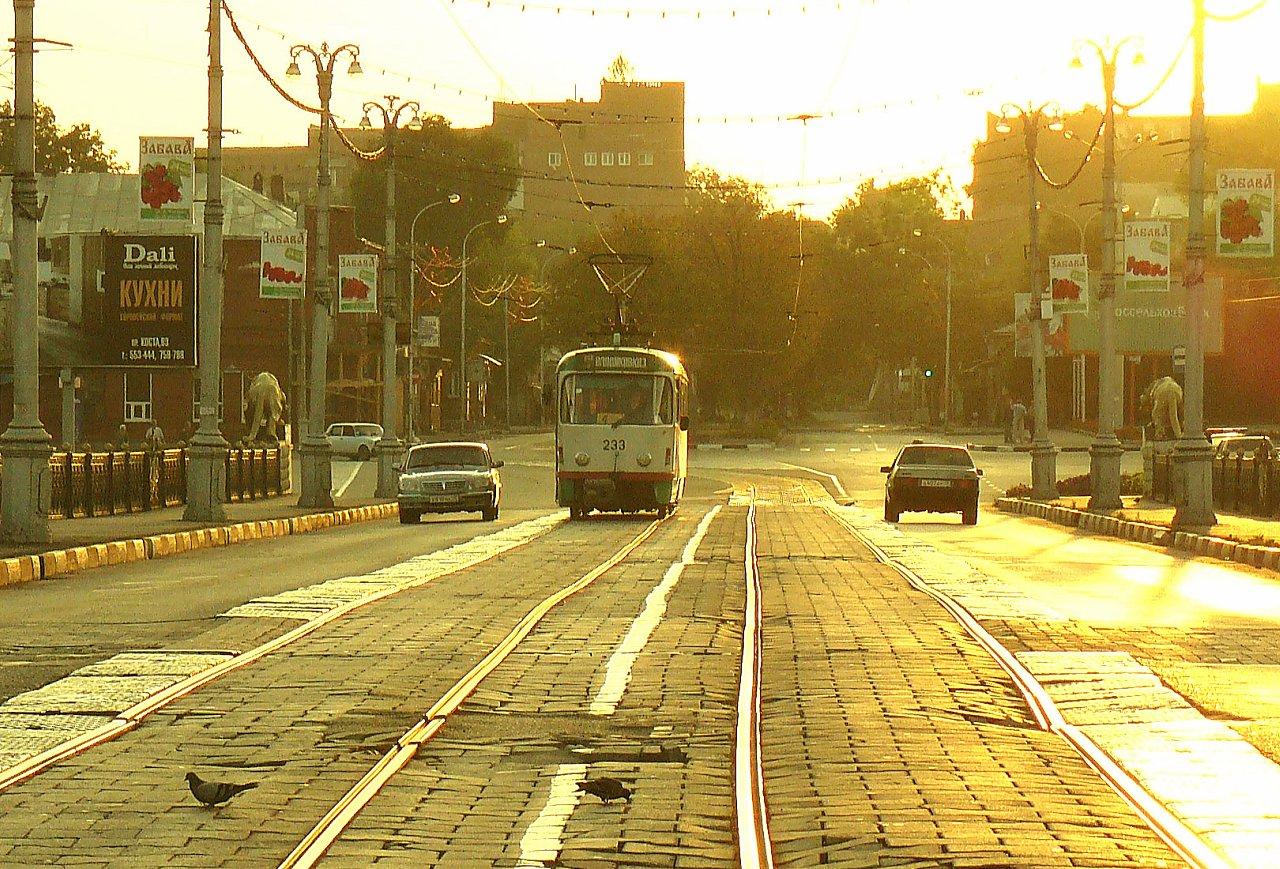 tram, Russia, Vladikavkaz