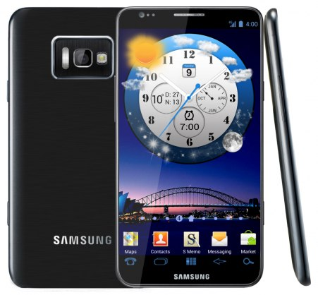 Samsung Galaxy S III возможно выпустят в апреле