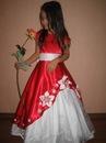 Шикарные нарядные платья и юбки-американки для маленьких принцесс.