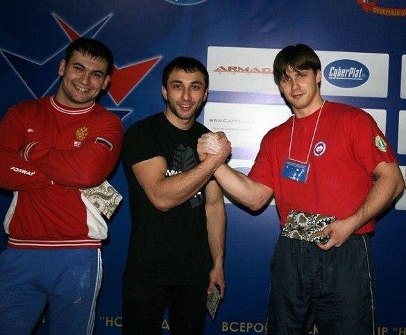 Arsen Liliev, Khadzimurat Zoloev, Roman Filippov