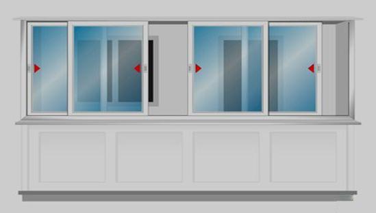 Дизайн узких балконов и лоджий фото