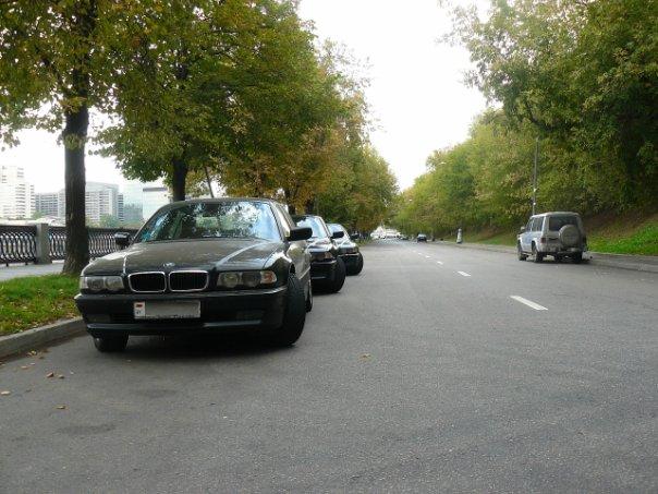 BMW E38 Club - Осенний марафон.Москва. Встреча 11 сентября. Набережная Тараса Шевченко + поход в музей ретро авто.