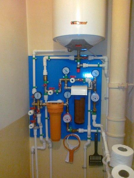 Отопление дома от водонагревателя своими руками