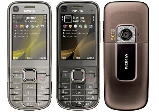вверх.  Несколько слов о продолжительности работы Nokia 6720 classic.