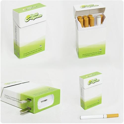 Две электронные сигареты с 3 зарядками + 20 картриджей = 750р.