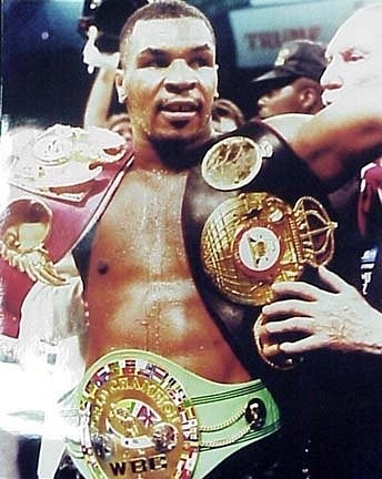 Майк Тайсон.  Тайфун в мире бокса.