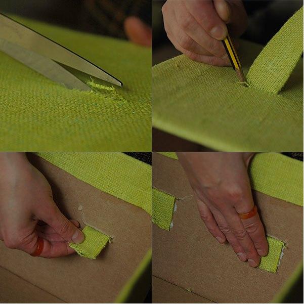 caixa de papelão reciclado