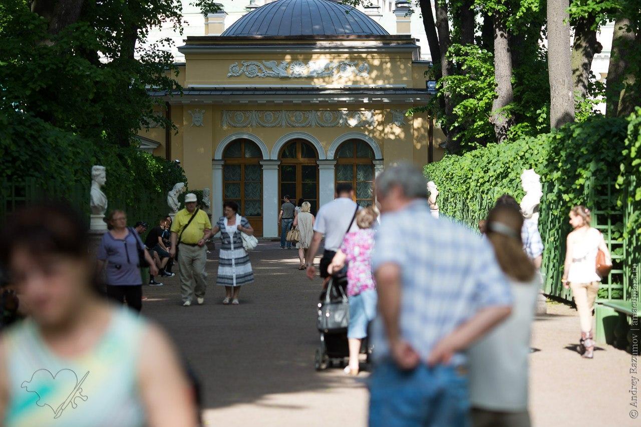 вход в Летний сад в Санкт-Петербурге станет платным