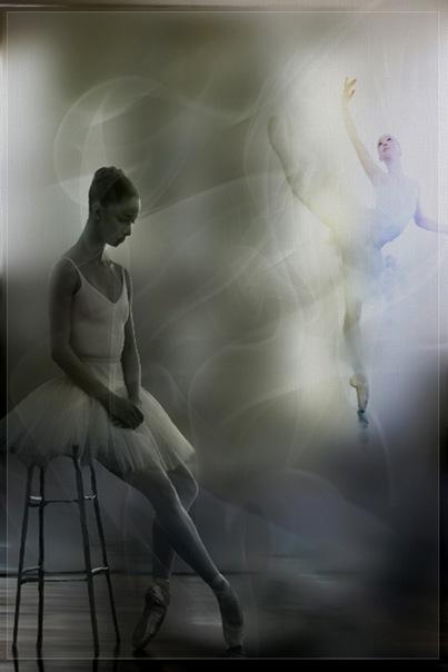 набор фигурок балерин,