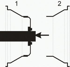 Как сделать садовое кашпо из двух дисков (обода) от колеса.
