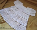 Крестильные принадлежности ручной работы.  Крестильное платье - 2. Т@ТьяН@.