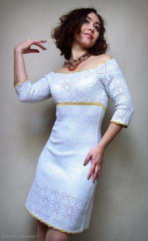 Вязаное платье Стелла, цена - 830 грн