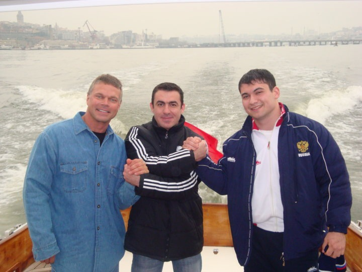 John Brzenk, Engin Terzi,  Arsen Liliev in Turkey