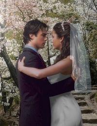Дневники вампира свадьба елены и деймона