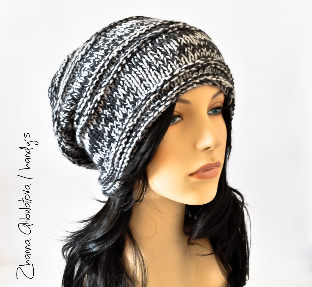 Joydoxhexnix Объемные вязаные женские шапки схемы