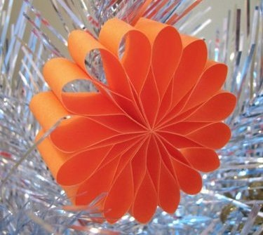 Новогодние украшения гирлянды своими руками из бумаги