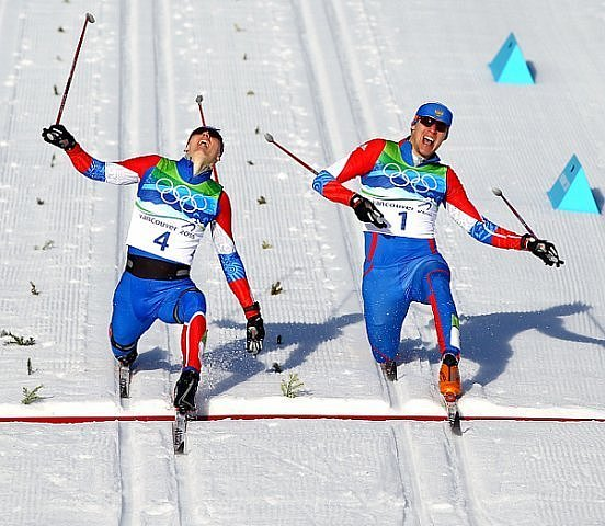 Olympic biathlon 2010