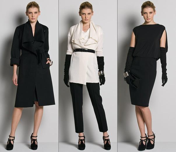 Одежда классического стиля.