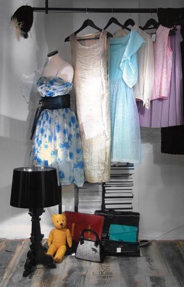 Traffic Vintage вот они, наши винтажные платья, чемоданы, медведи и...
