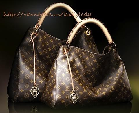ДЕТАЛИ Сумка Louis Vuitton Коричневая 50cm x 36cm x 25cm