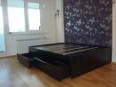 Помимо чисто функционального удобства кровать -подиум может придать уют...