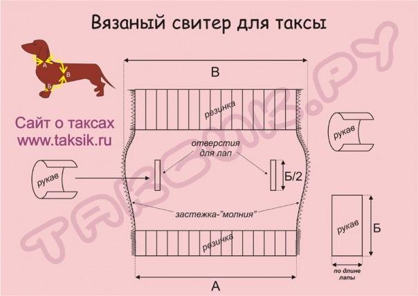 Схема Вязания Свитера Для