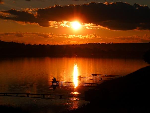 Вечерняя рыбалка. Автор фото – Александр Улатов.