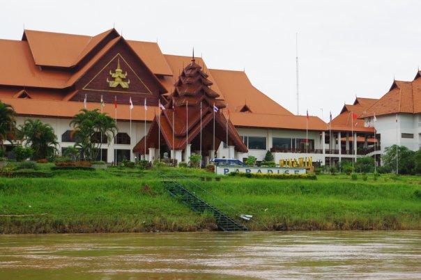 Казино на бирманской стороне
