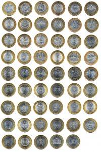 монеты россии юбилейные монеты 10 рублей фото