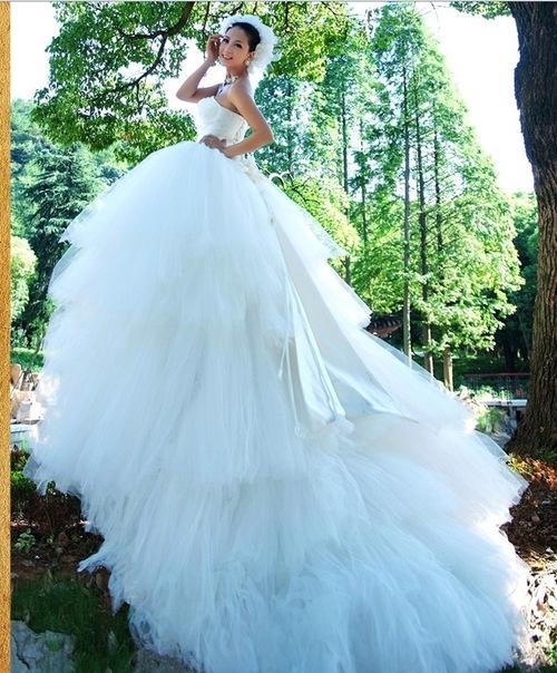 Свадебные платья Белоснежное свадебное платье в стиле балерины...