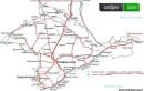 ...населенных пунктов, схему дорог и все, что связано с Крымом, предлагаем Вам посмотреть подробную карту Крыма.