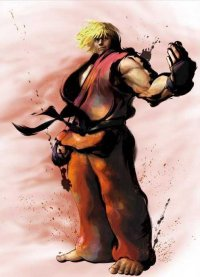 Click Ryu and Ken above to go to our Character Art page for Street Fighter 4.
