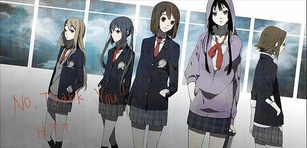 картинки аниме в школе